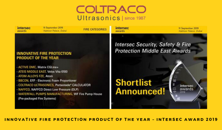 Coltraco Ultrasonics: Shortlisted for Innovative Fire
